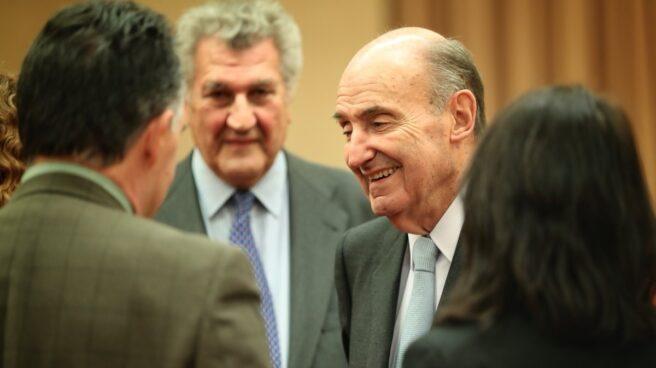 Miquel Roca, ponente de la Constitución, en el Congreso.