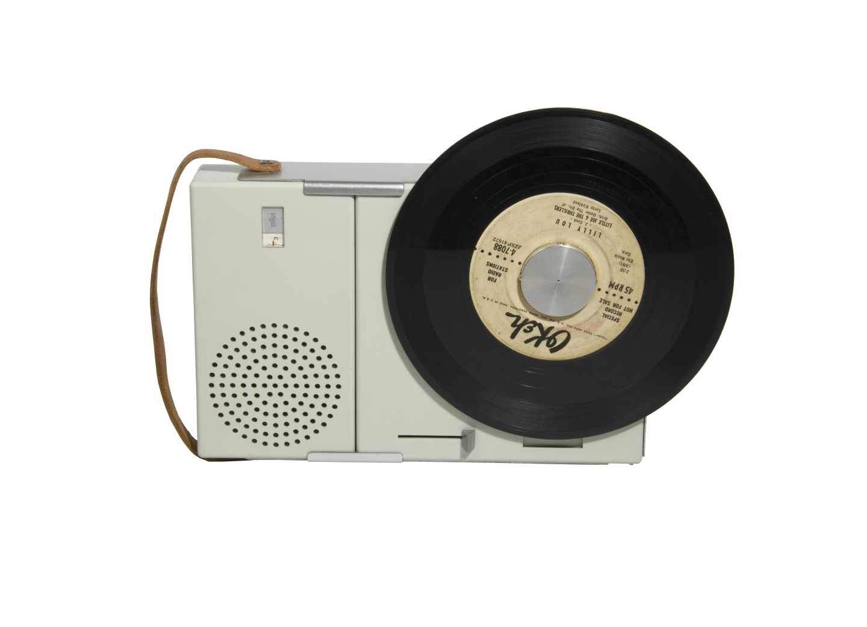 Tocadiscos TP1, 1959, Dieter Rams (1932), Braun AG (Alemania)