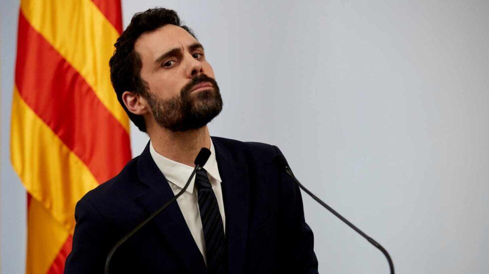 Roger Torrent, presidente del Parlament de Cataluña.