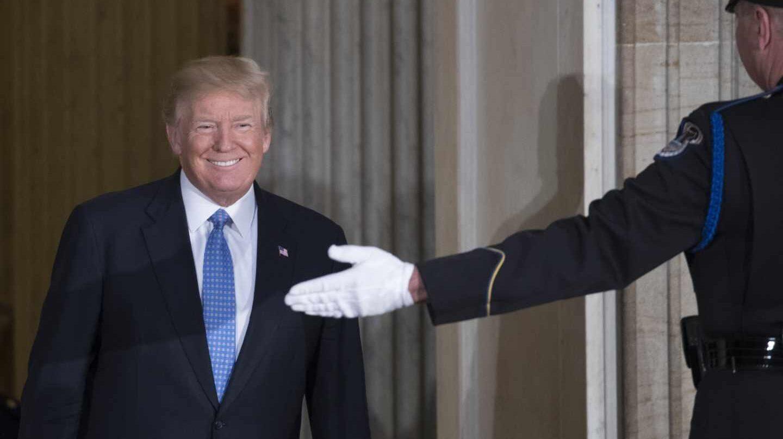 Donald Trump, en el Capitolio.