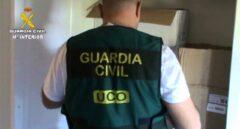 Registro de un guardia civil de la UCO.