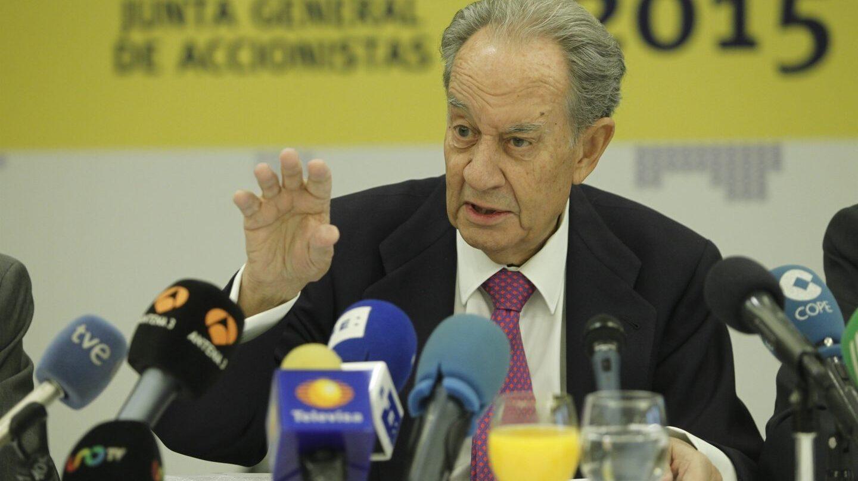 El ex presidente de OHL, Juan Miguel Villar Mir.