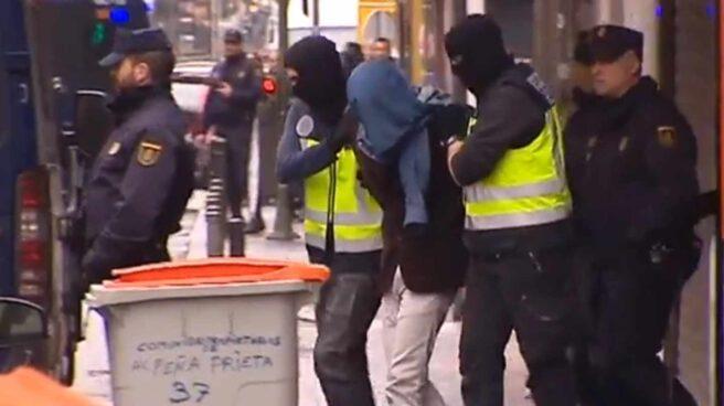 Walid Oudra, durante su detención en Madrid en noviembre de 2015.