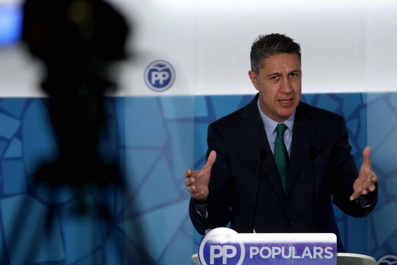 Xavier García Albiol, en una comparecencia ante la prensa.