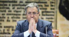 El ministro Juan Ignacio Zoido, en la Comisión de Interior del Senado este jueves.