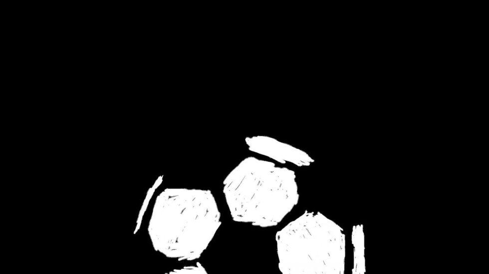 Ilustración de un balón de fútbol.