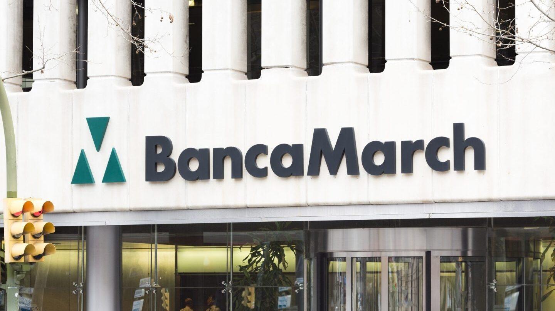 Fachada de una de las sedes de Banca March.