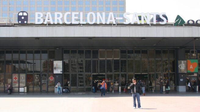 Estación de alta velocidad de Barcelona Sants.