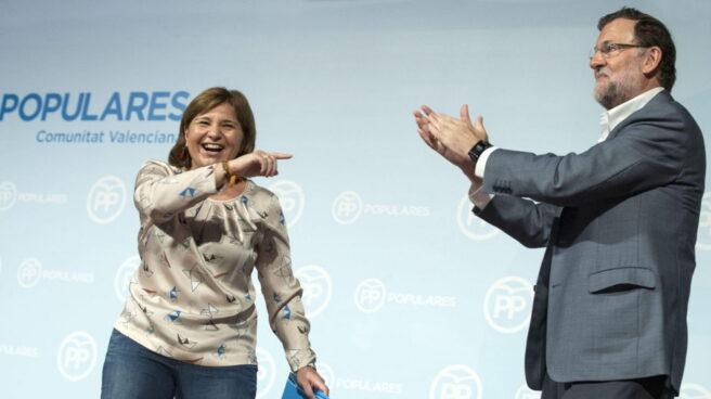 Isabel Bonig y Mariano Rajoy