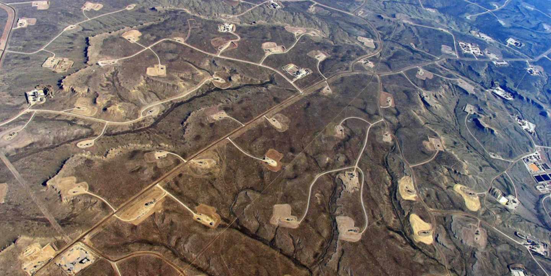 Campos de fracking