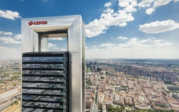 Sede de Cepsa en Madrid.