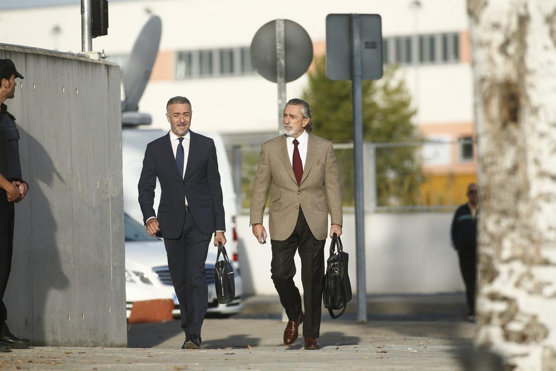 Francisco Correa acude a declarar por la trama Gürtel.