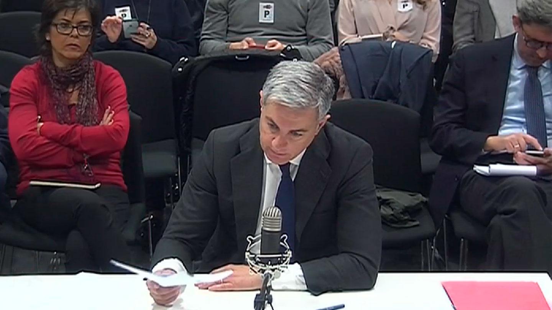 Ricardo Costa durante su declaración