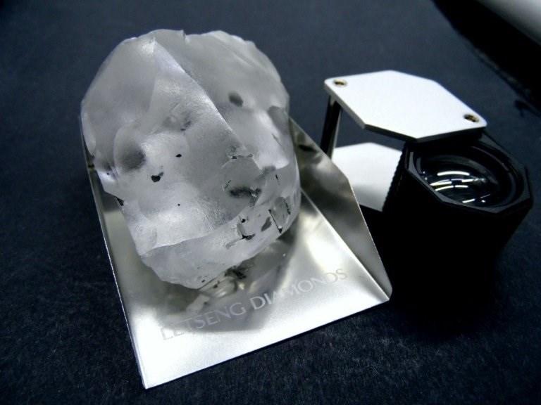 Descubierto el quinto diamante más grande del mundo.