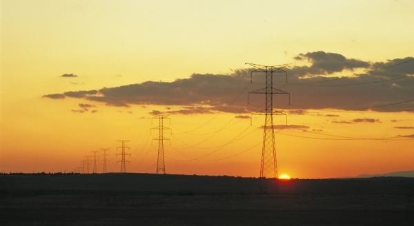 Torres de electricidad.