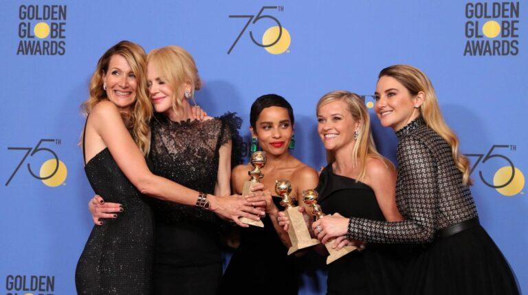 Laura Dern, Nicole Kidman, Zoe Kravitz, Reese Witherspoon y Shailene Woodley