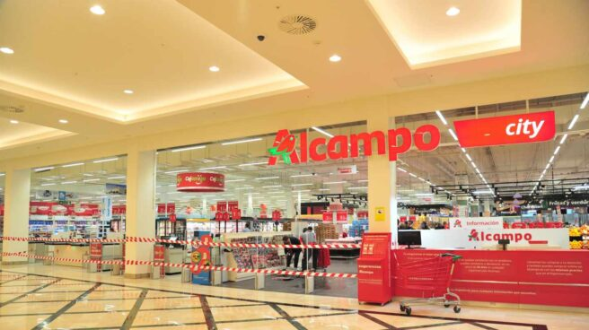 Un supermercado Alcampo