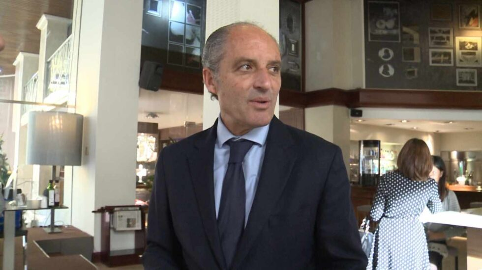 El ex presidente de la Generalitat Valenciana Francisco Camps.