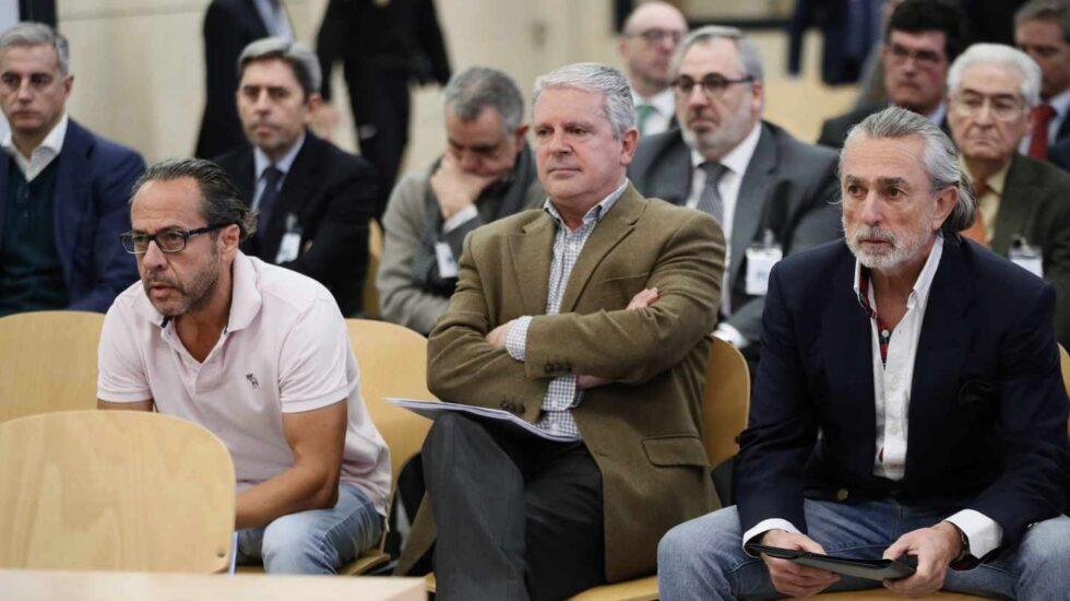 Álvaro Pérez 'El Bigotes', Pablo Crespo y Francisco Correa.
