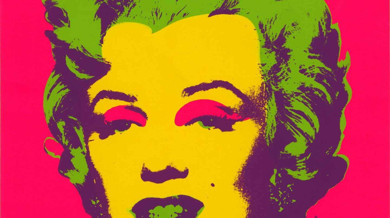 Marilyn print, 1967, Warhol