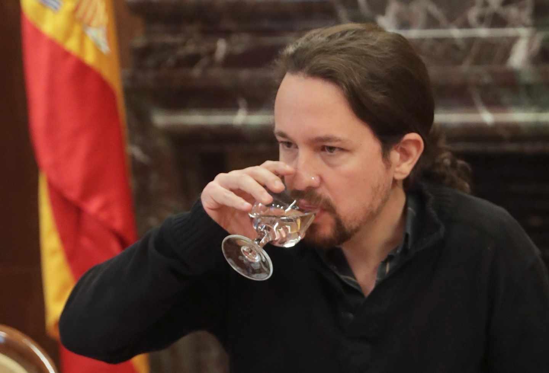 Pablo Iglesias critica el coste del despliegue policial para el referéndum de Cataluña.