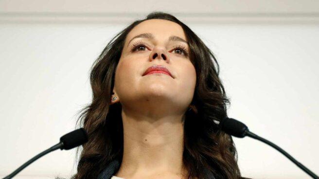 Inés Arrimadas, en el Parlament de Cataluña el pasado 30 de enero.