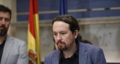 El líder de Podemos, Pablo Iglesias, el pasado noviembre en el Congreso.