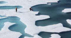Corrientes de aire subtropical subieron las temperaturas sobre cero en el Ártico en 2015