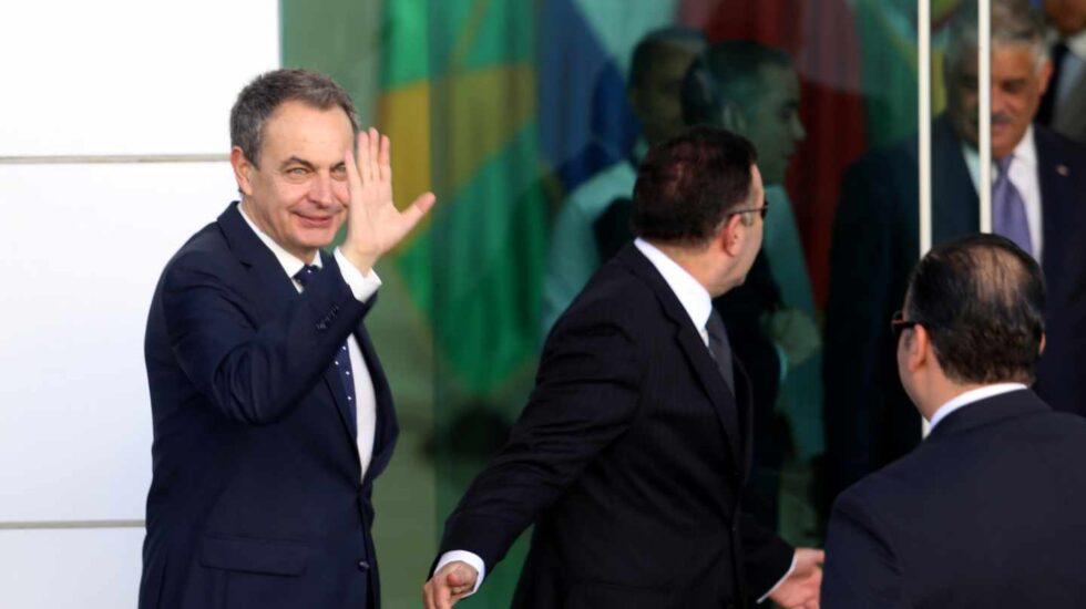 El ex presidente del Gobierno, José Luis Rodríguez Zapatero, en la República Dominicana el pasado 29 de enero.