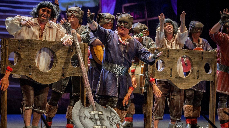 la familia verdugo carnaval cadiz puigdemont
