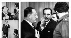 Secuencia del momento en que el diplomático español Juan Pablo de Lojendio se enfrenta a Fidel Castro en enero de 1960.