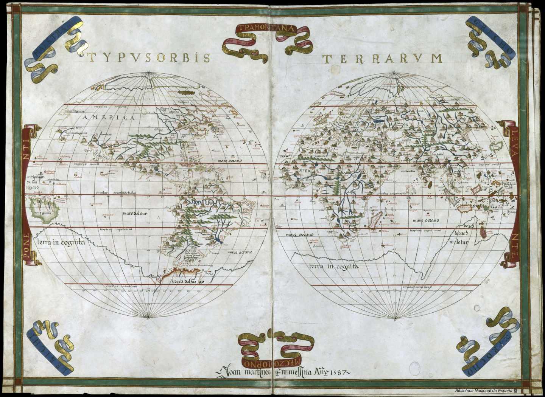 Atlas de Joan Martines 1587