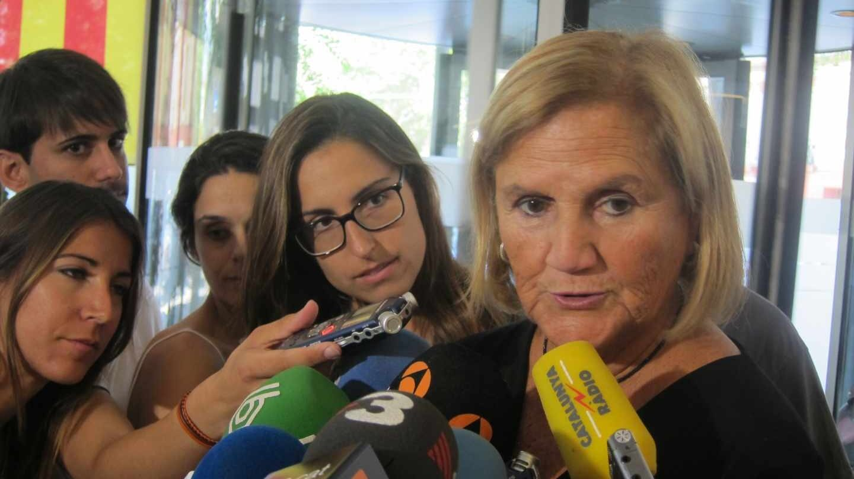 La ex presidenta del Parlament, Núria de Gispert.