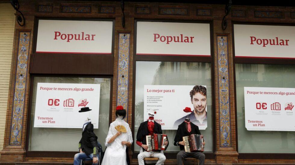 Sucursal del Banco Popular.