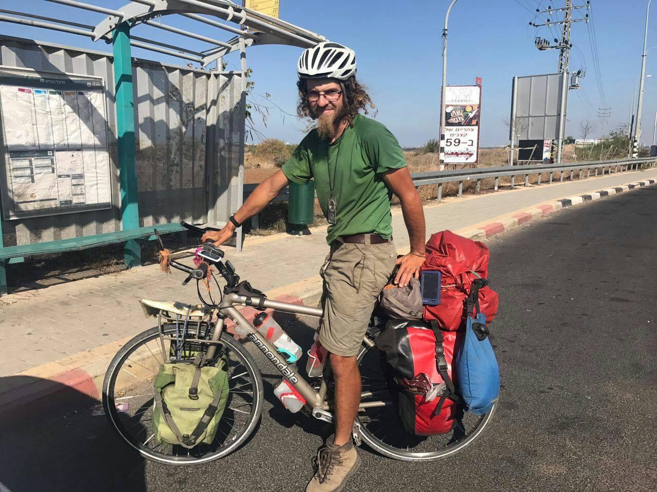 El turista británico desaparecido en Israel, Oliver McAfee.