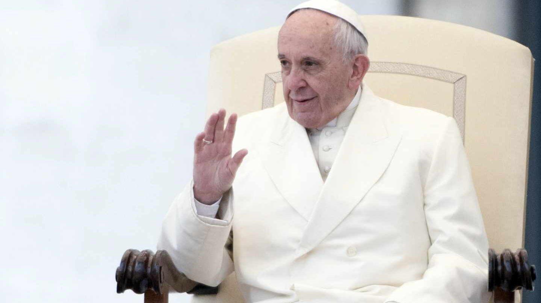 El Papa Francisco, durante un acto oficial el pasado mes de enero.