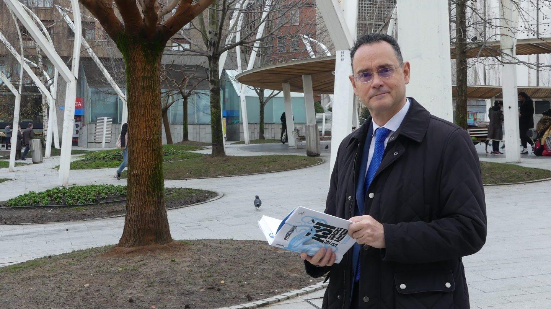 El coronel del Ejército de Tierra, Pedro Baños, autor del libro 'Así se domina el mundo'.