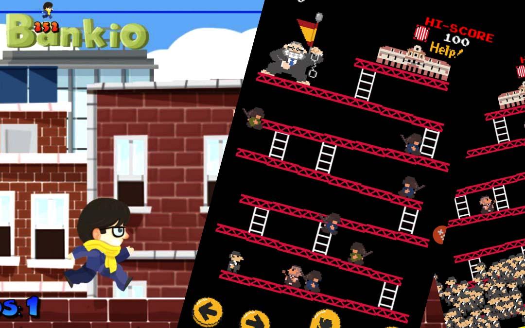 Apps de juegos para móviles sobre el procés.