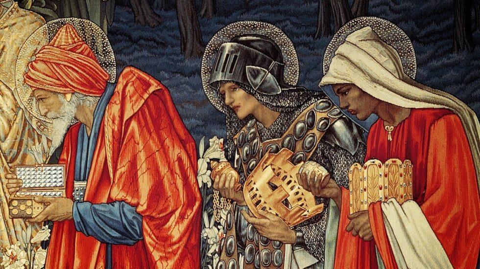 La Adoración de los Reyes Magos de Morris