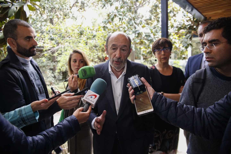 Alfredo Pérez Rubalcaba, ex secretario general del PSOE.