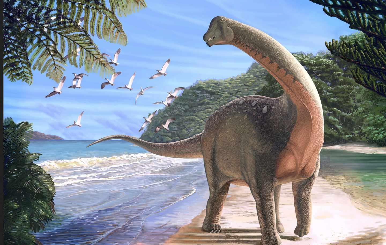 Mansourasaurus, dinosaurio egipcio gigante