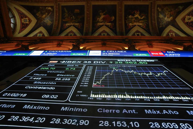 El Ibex pierde los 10.000 puntos tras liquidar 50.000 millones en siete días.
