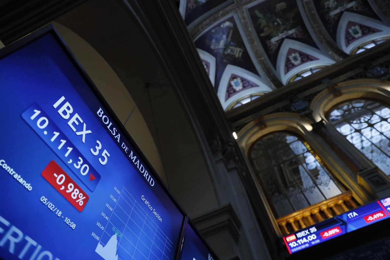 Las bolsas pierden todas sus ganancias en el año ante el pinchazo de los bonos.