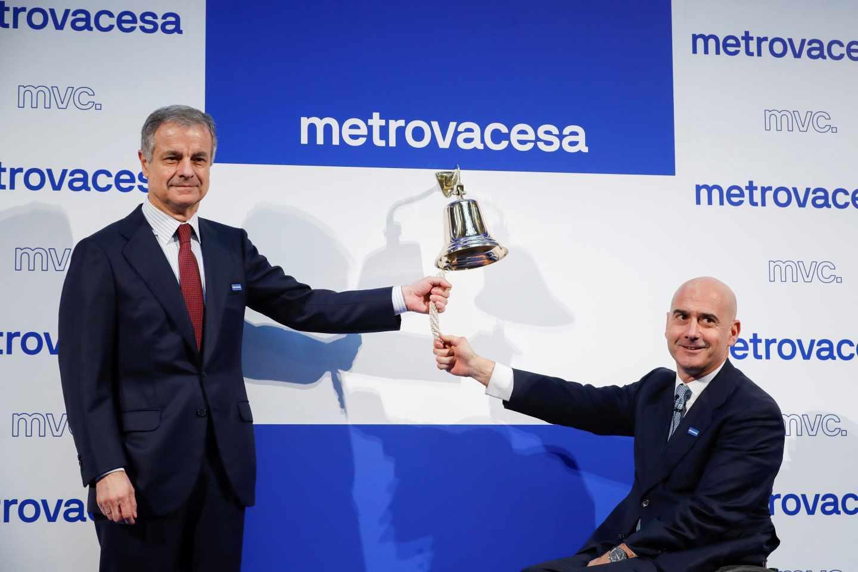 Metrovacesa se reestrena en bolsa con una caída superior al 5%.