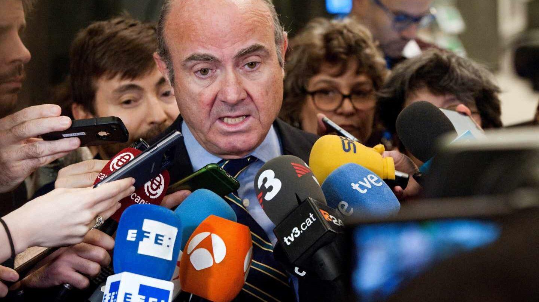 """Guindos, ante el Parlamento Europeo: """"Mi experiencia puede ser un gran activo para el BCE""""."""