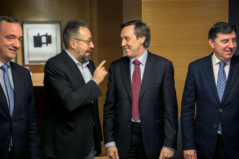 Girauta y Hernando el pasado miércoles en el Congreso