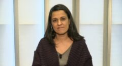 La dirigente de la CUP Anna Gabriel.