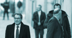 Artur Mas, a su llegada al Tribunal Supremo.