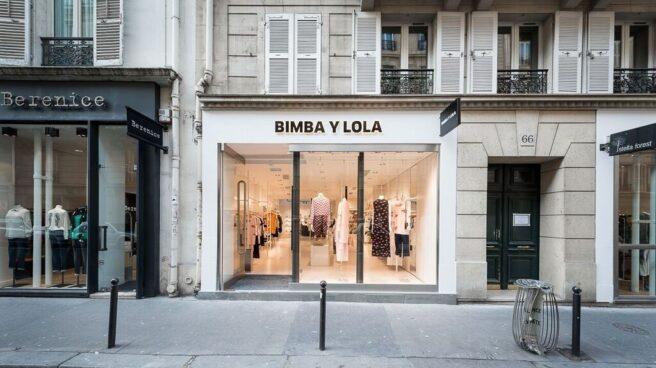 Tienda de Bimba y Lola en París.
