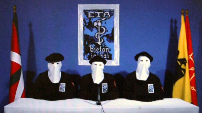 Miembros de la banda terrorista ETA.